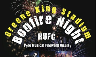 Bonfire Night in Hinckley